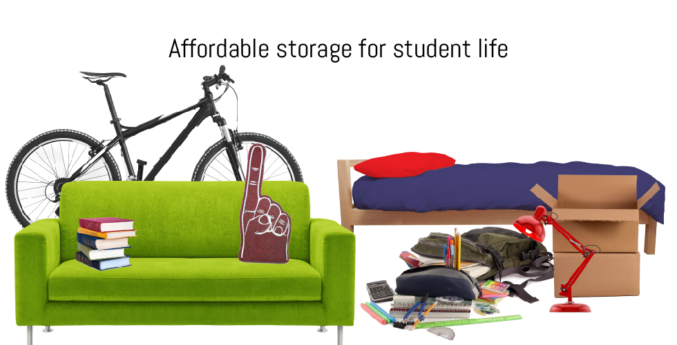 Affordable storage for students