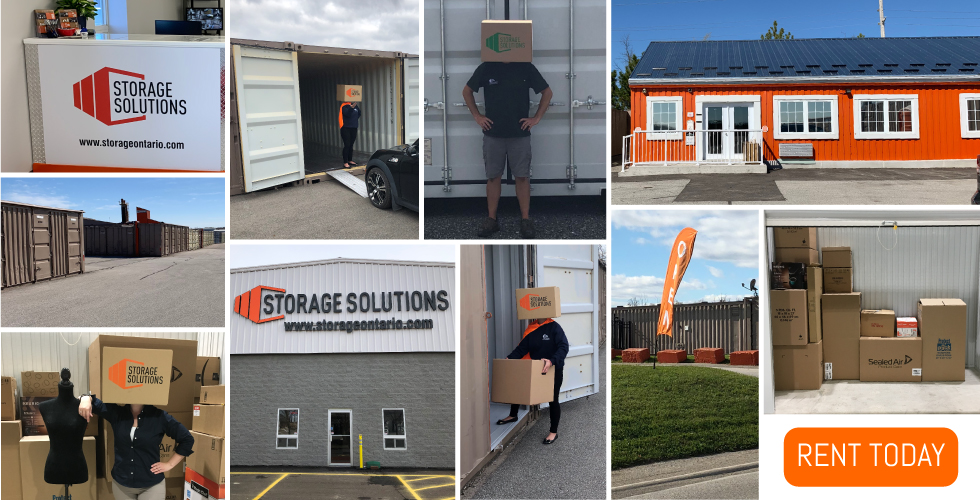 Flexible & affordable self-storage rentals from Storage Solutions