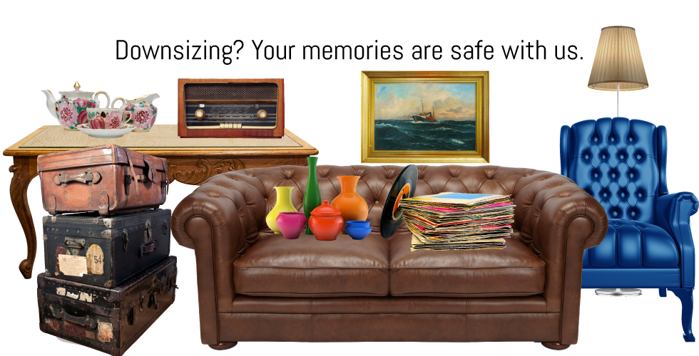 Downsizing your home?  Store your belongings at Storage Solutions self-storage