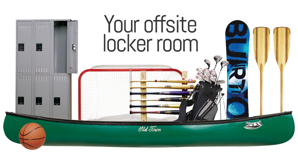 Your offsite locker room