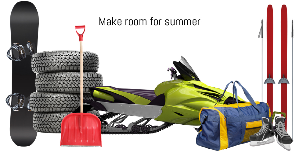 Make room for summer
