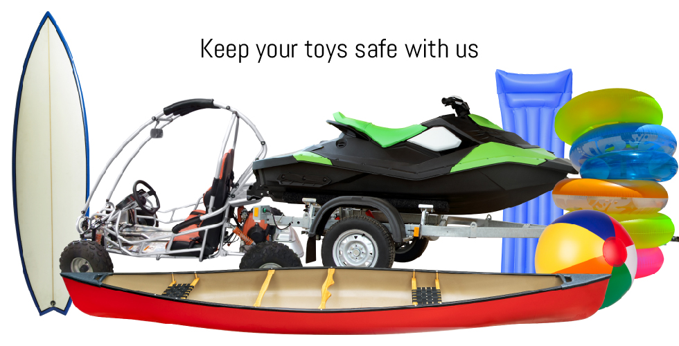 Store Your Summer Toys at Storage Solutions Self Storage
